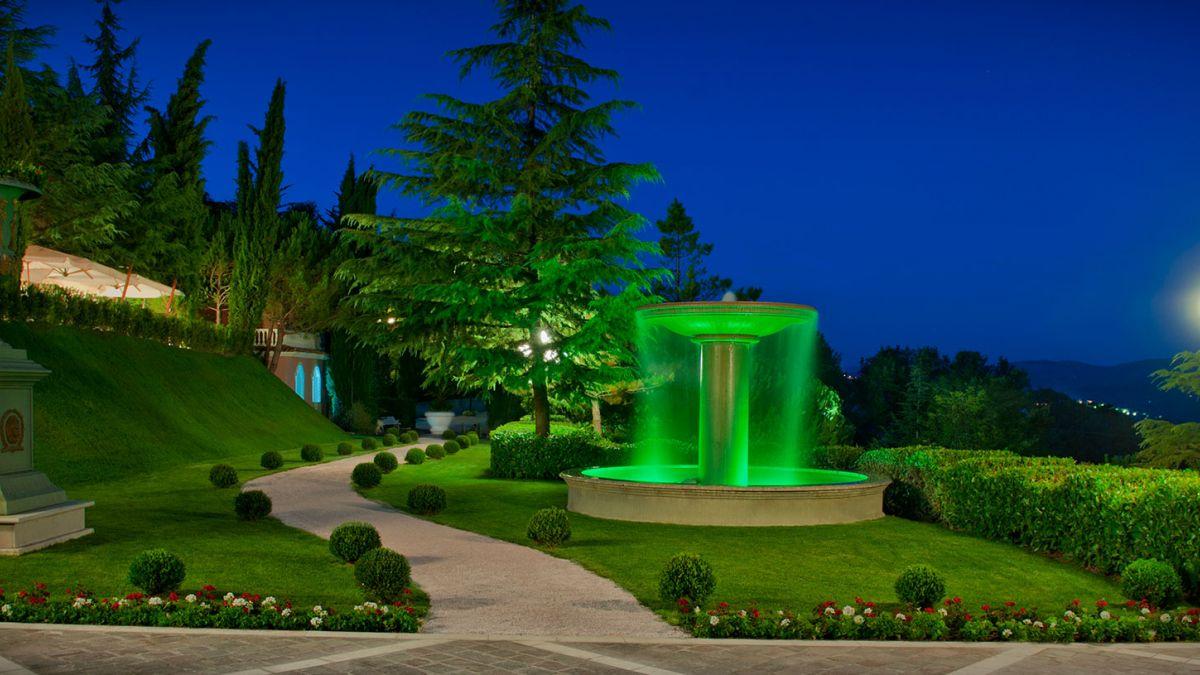 Parco della location per cerimonie